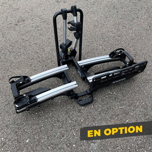 Porte-bicyclette en option