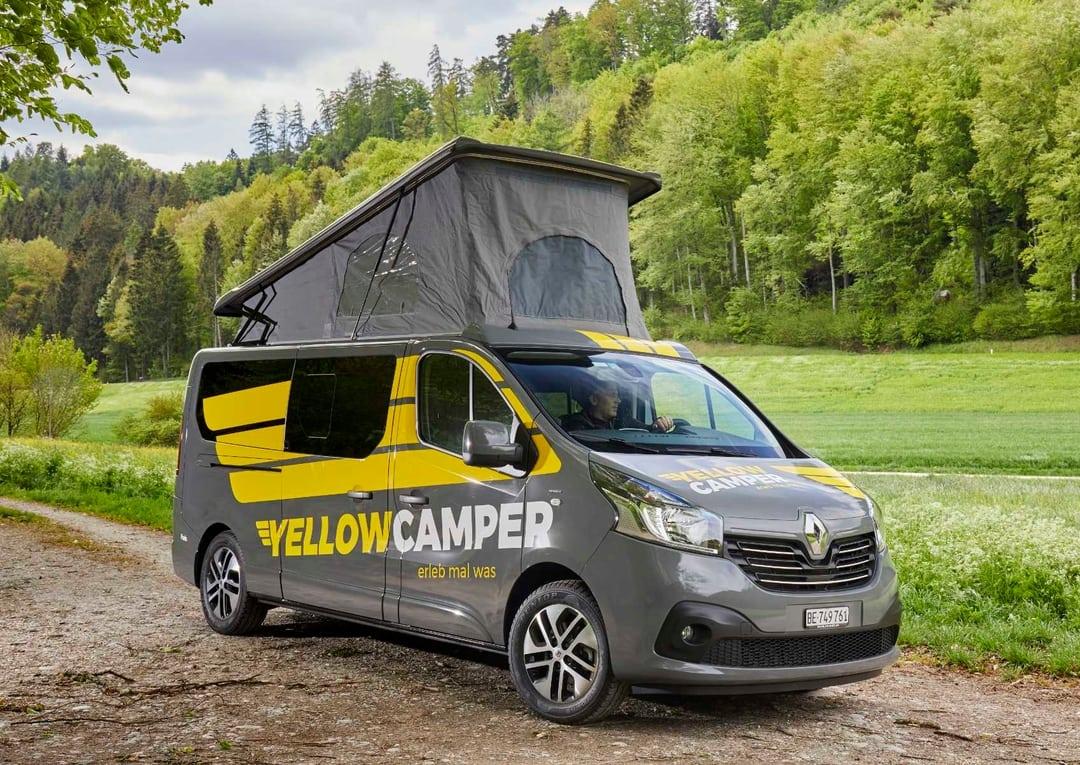 Yellowcamper Deluxe mit Schlafdach mieten