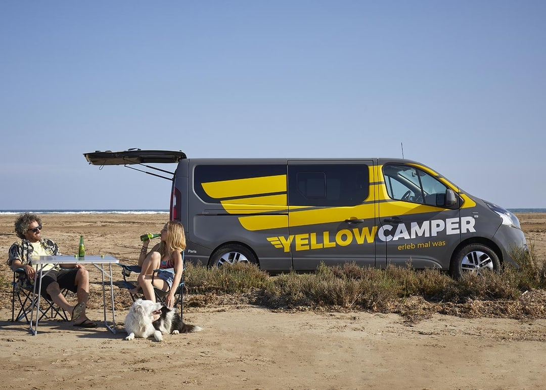 Yellowcamper Comfort mit viel Platz mieten