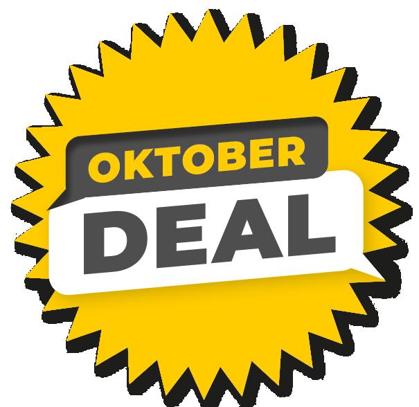 Oktober Deal bei Yellowcamper