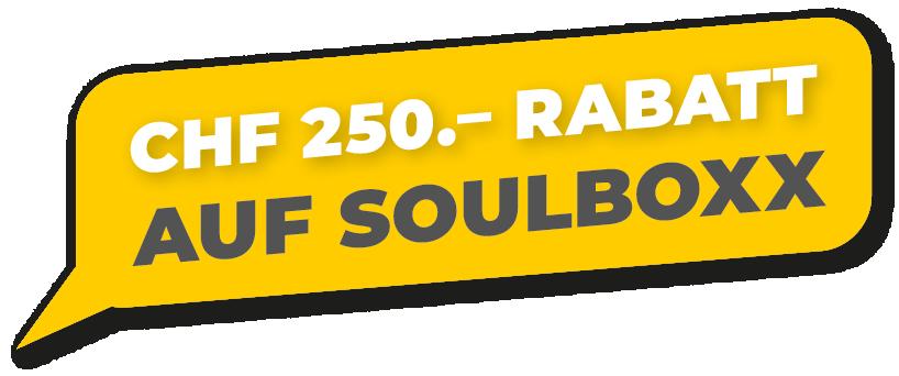 250.- CHF Rabatt auf Soulboxx-Küchen