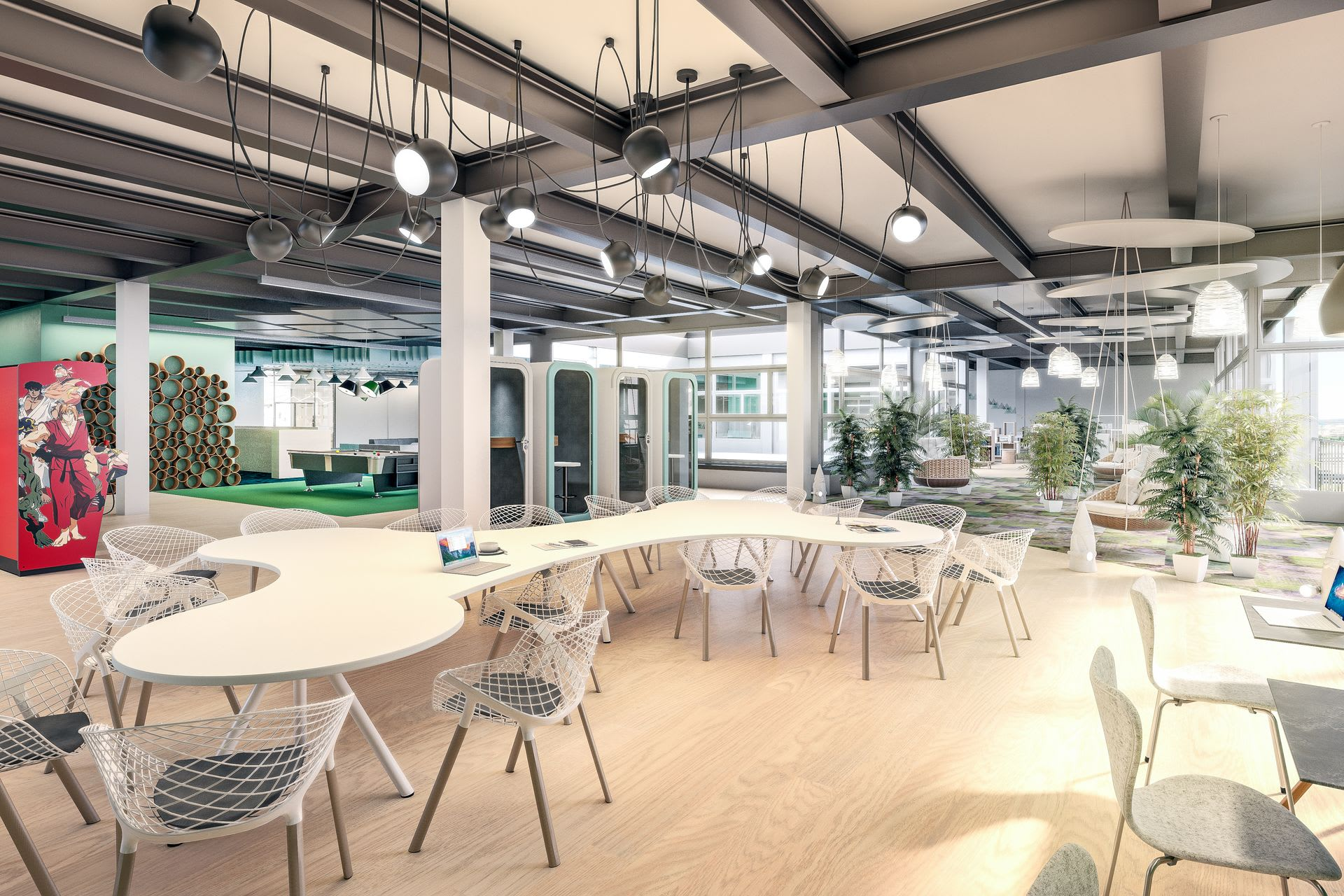 Coworking Spreitenbach, Shared Office mieten. serviced office, future workspace, growth office