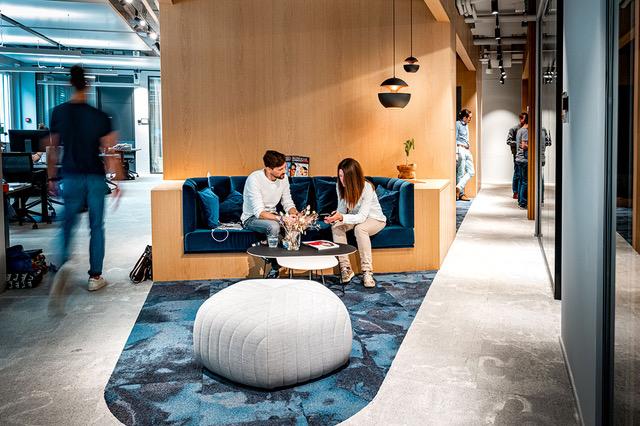 Sofa, Meeting, Lounge Coworking Lounge Tessinerplatz, Bahnhof Enge, Arbeitsplatz mieten, Zürich
