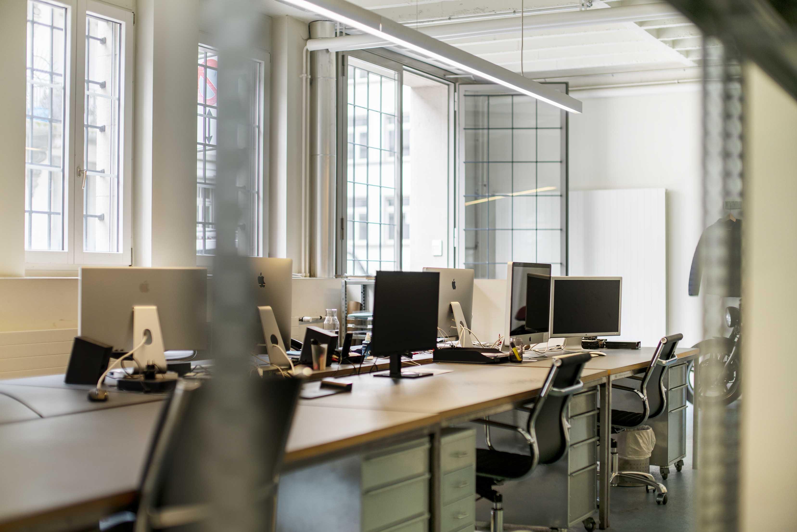 stylisches, modernes büro in zürich mieten, vermieten oder untermieten schweiz bürogemeinschaft atelier gemeinschaft shared office coworking