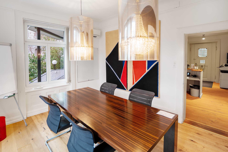 gartenlounge, treuhand, private office, shared office business center. coworking atelier gemeinschaft.