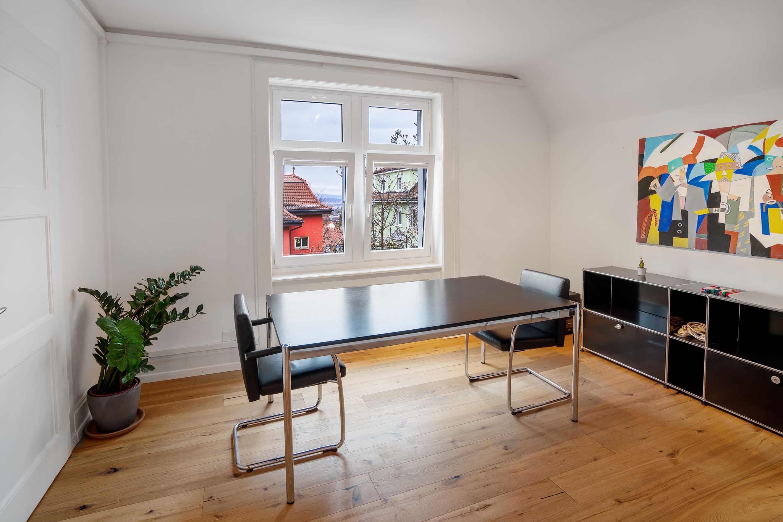 gartenlounge, treuhand, private office, shared office business center. coworking atelier gemeinschaft. Meeting raum