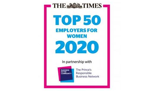 top 50 employers for women 2020
