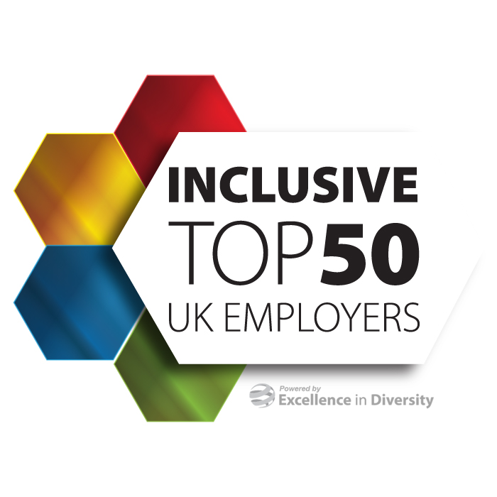 inclusive top 50 employers prize