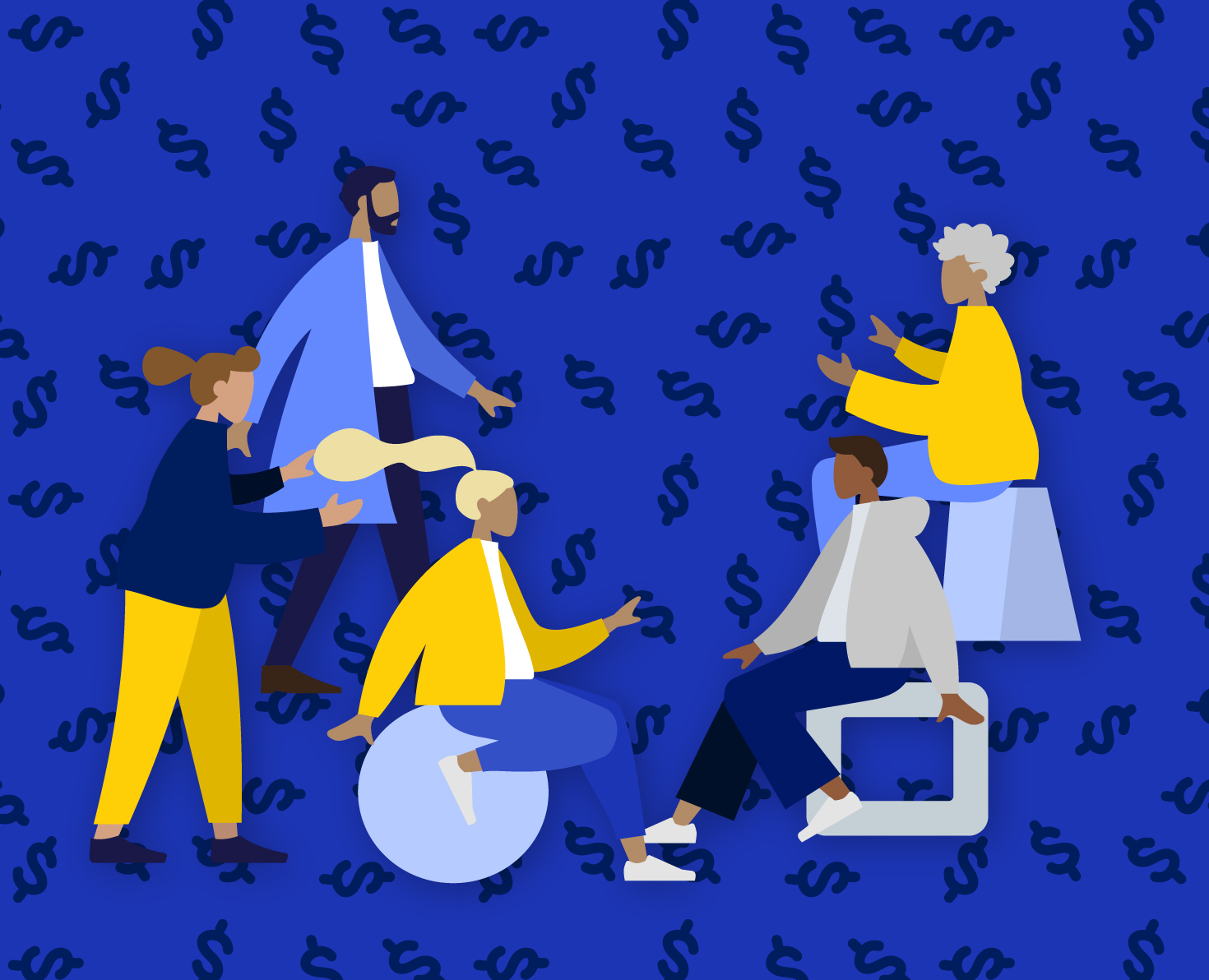 seed money event illustration
