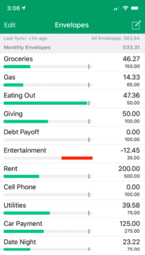 personal finance software Goodbudget