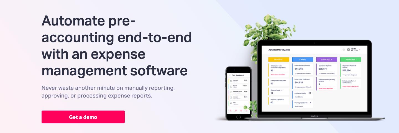 Fyle Expense management platform