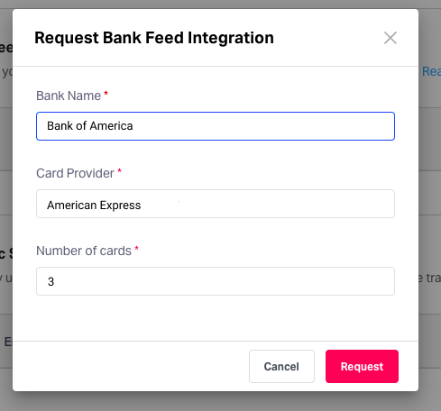 Credit card reconciliation: Direct bank feeds