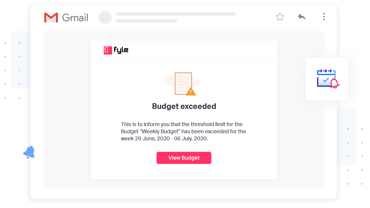 Control your budget and stay on top of it with Fyle's expense management software