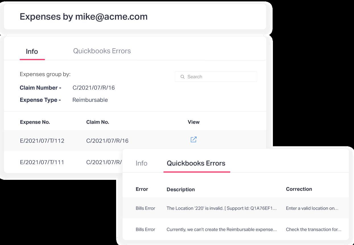 Quickbooks Online Expenses Troubleshooting