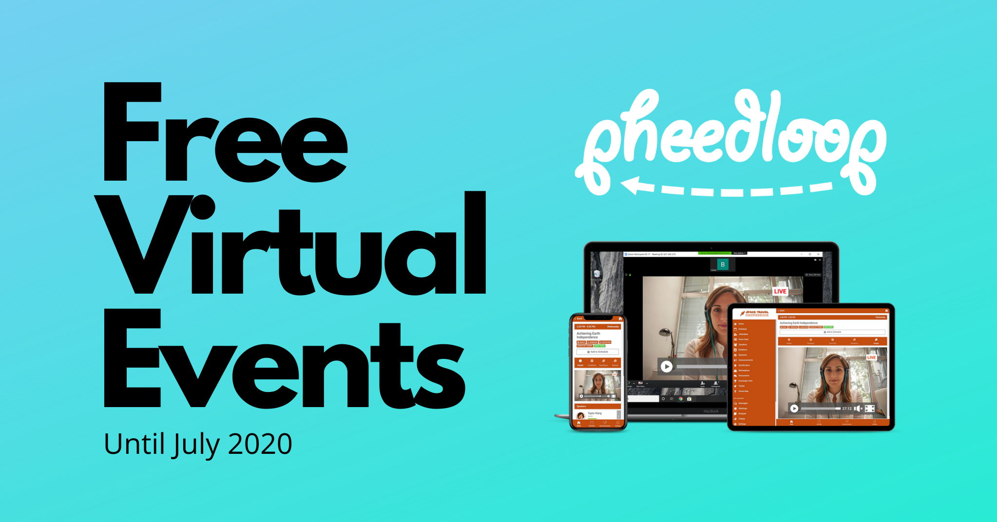 Pheedloop Offers FREE Virtual Event Platform For COVID-19 Impacted Events & Conferences