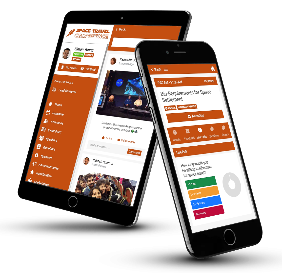 Mobile Event App | PheedLoop