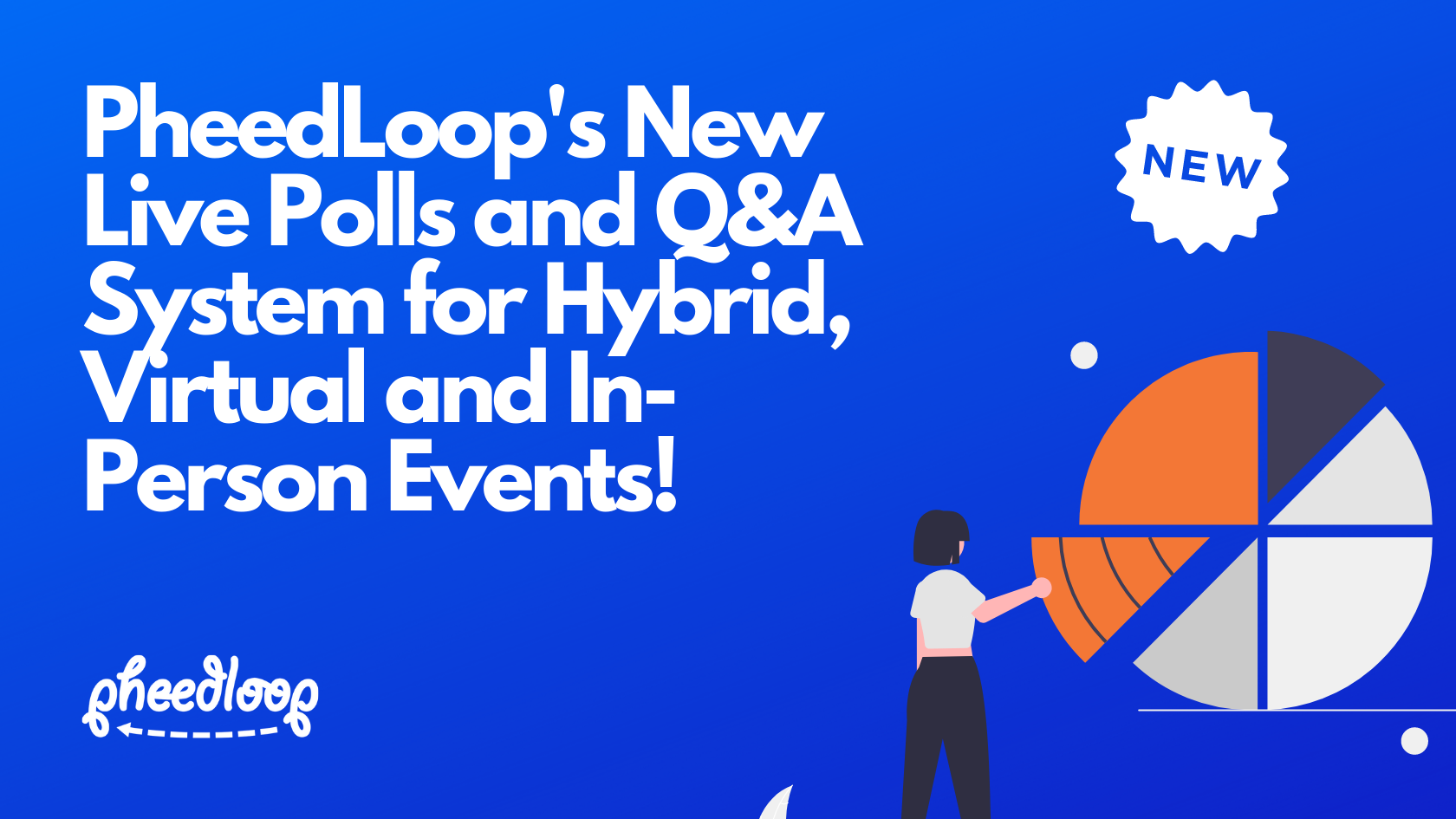 Introducing PheedLoop's New Live Polls and Q&A System for Hybrid, Virtual and In-Person Events!