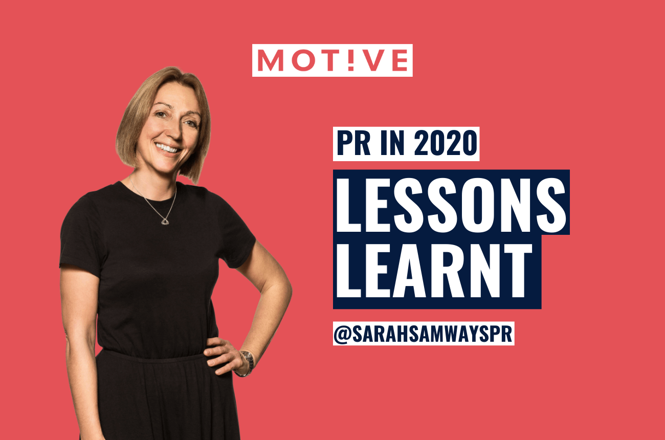 PR in 2020 – lessons we learnt