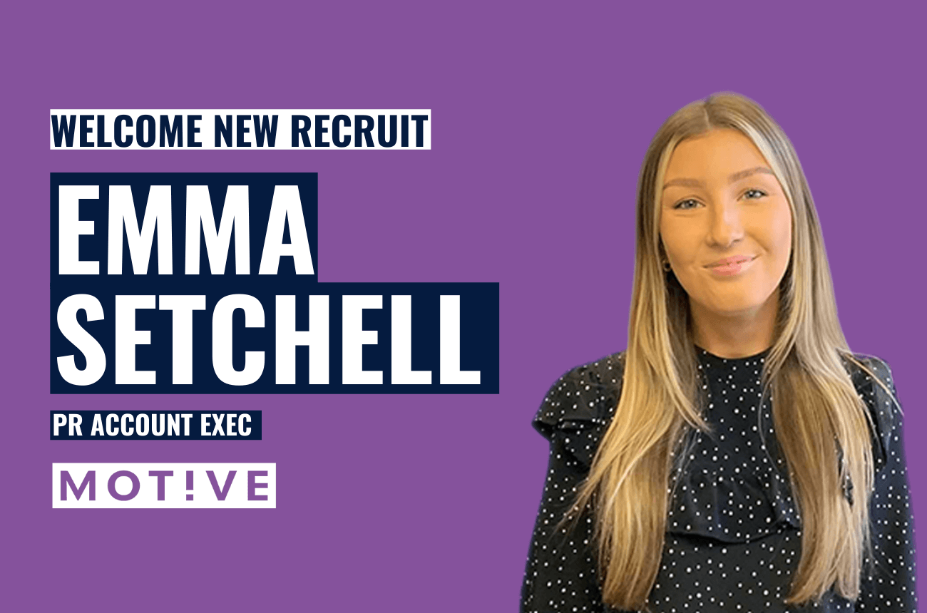 Emma Setchell joins our team