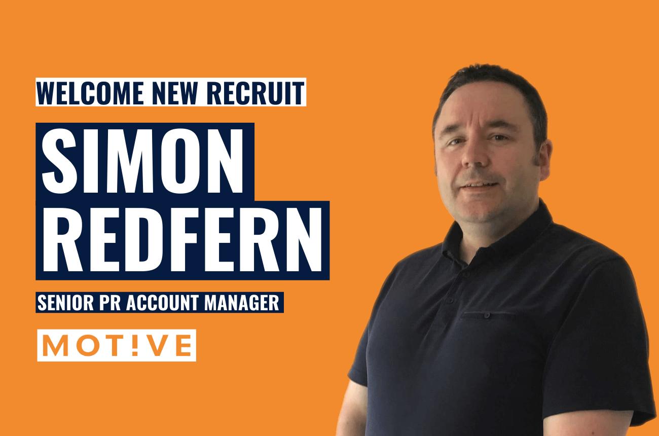 Simon Redfern Joins Motive