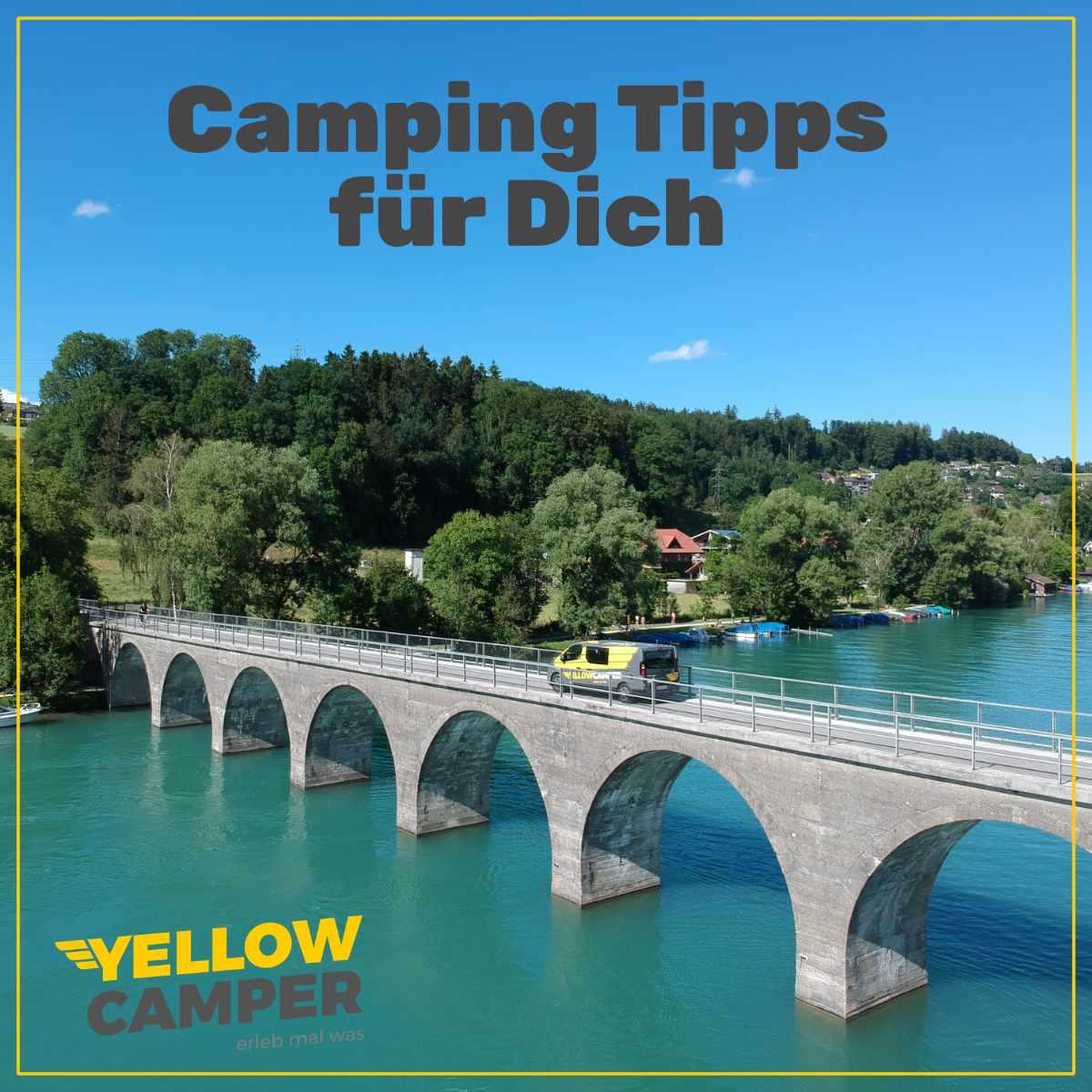 Wo Du mit dem Camper noch hin kannst!