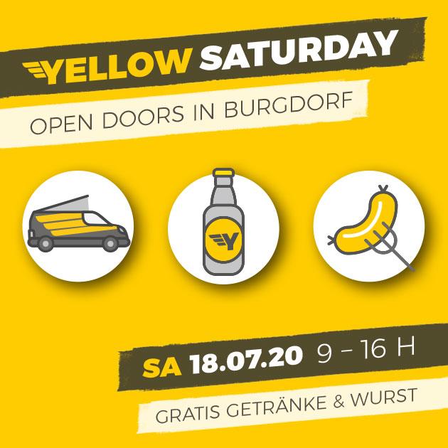 Yellow Saturday am 18. July 2020