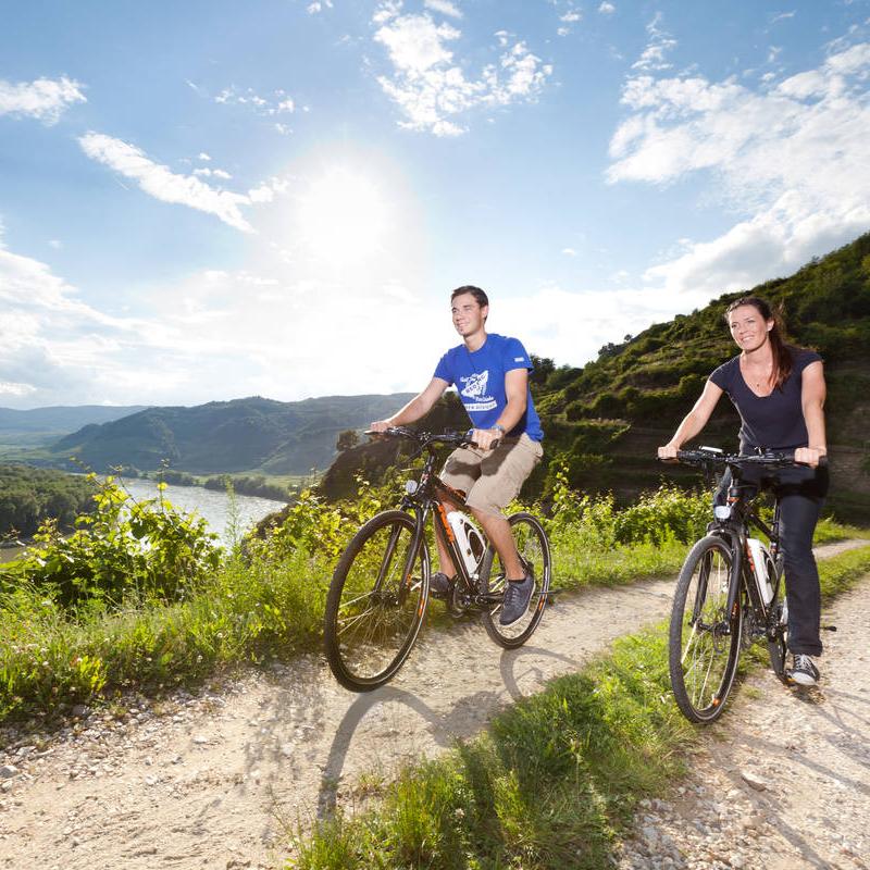 Genussvolle E-Bike Tour durchs Rheintal