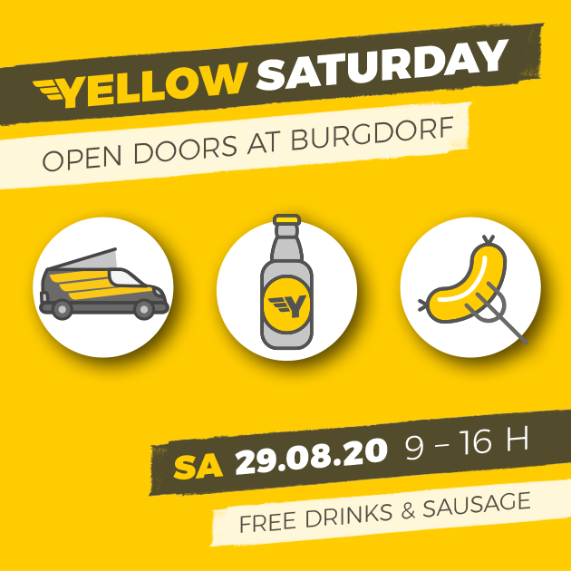 Yellow Saturday 29th of August 2020