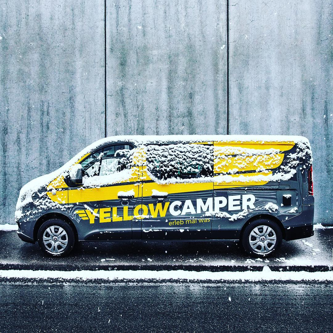 5 reasons to buy a Yellowcamper this winter