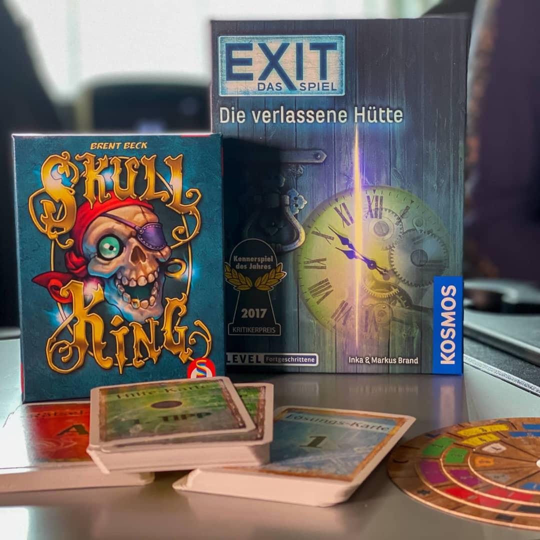 Jeux de cartes dans Yellowcamper