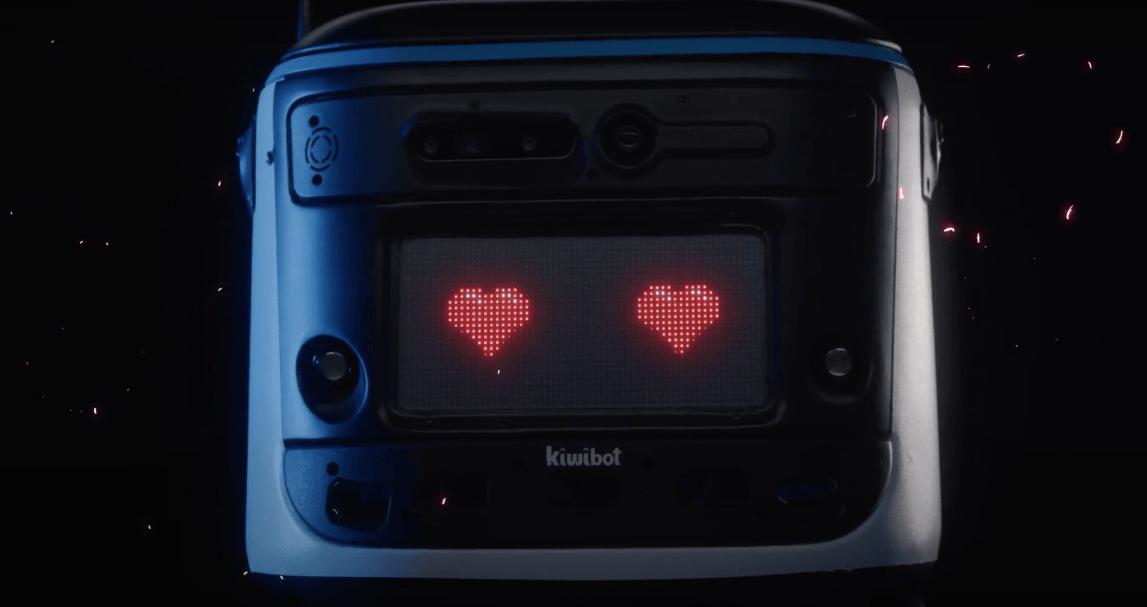 Kiwibot frontal Hardware