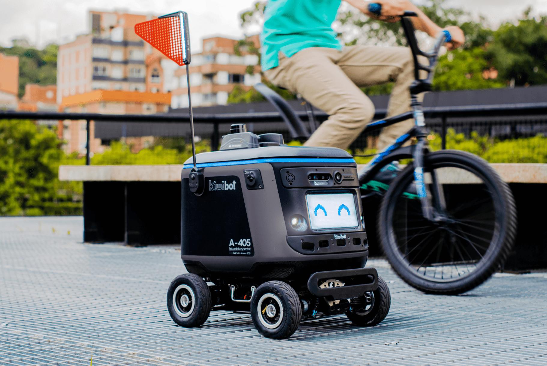 Robot zero emissions delivery