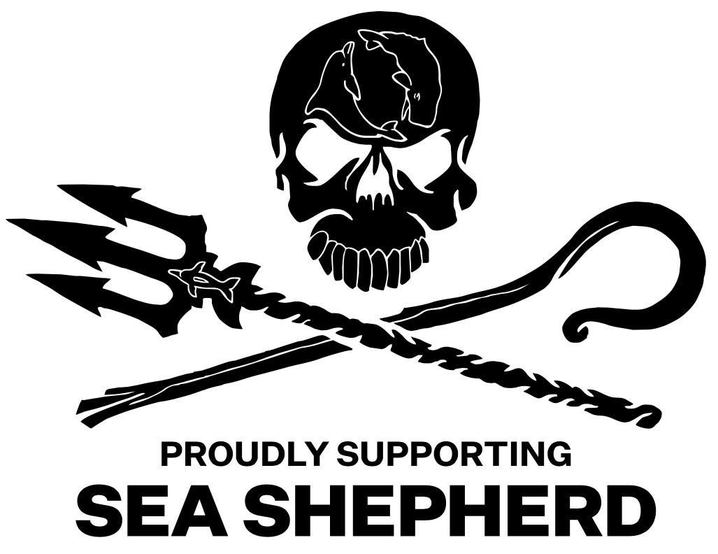Logo di Sea Sheperd, partner di TEDxUNICATT Countdown.