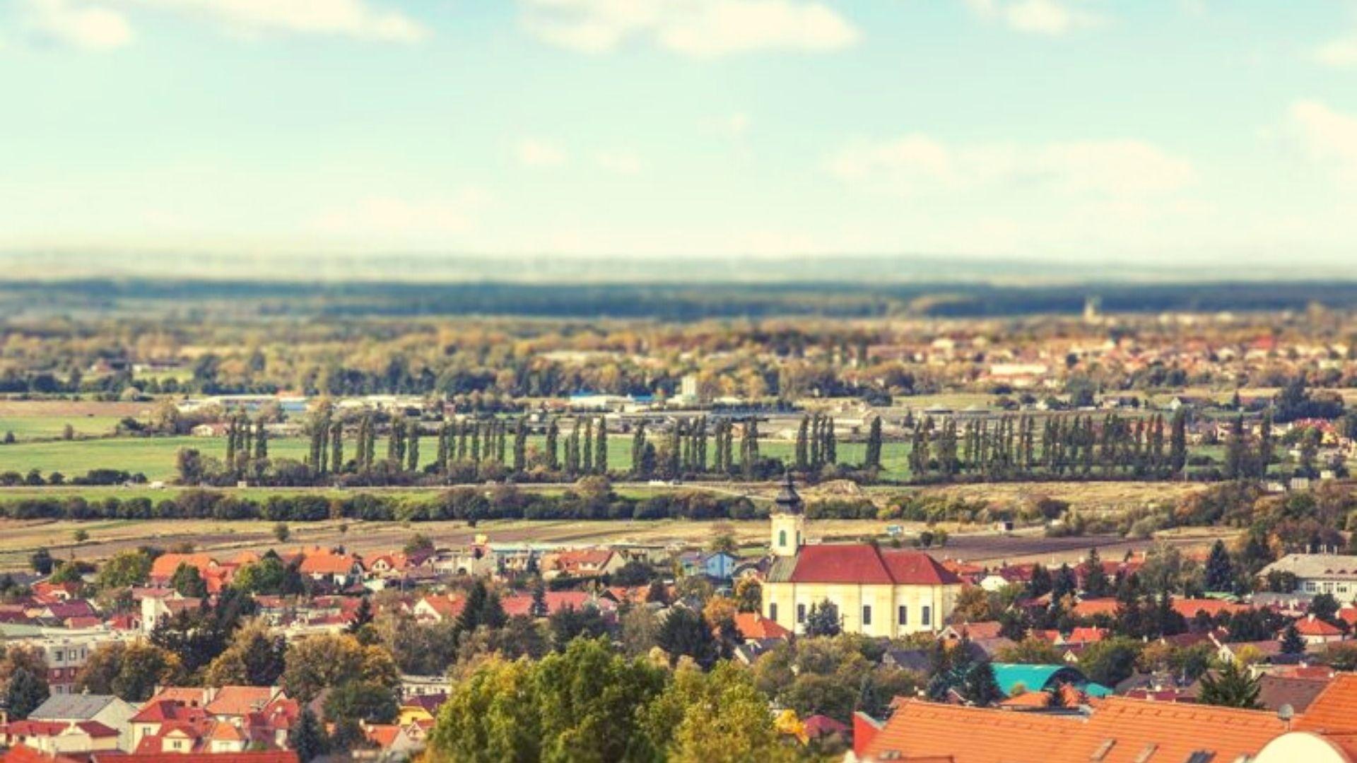 bývanie v Záhorskej Bystrici príroda