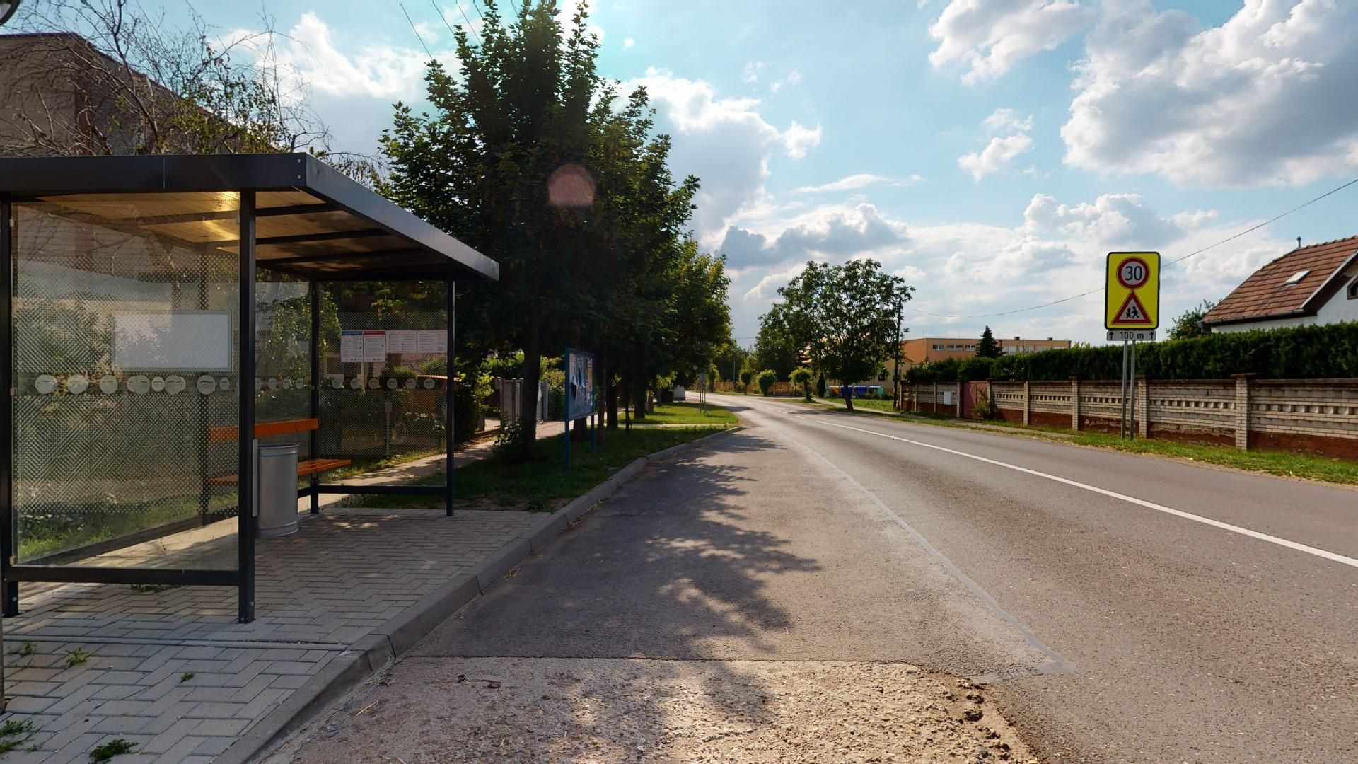bývanie v Miloslavove časť Alžbetin dvor