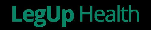 A LegUp Health logo