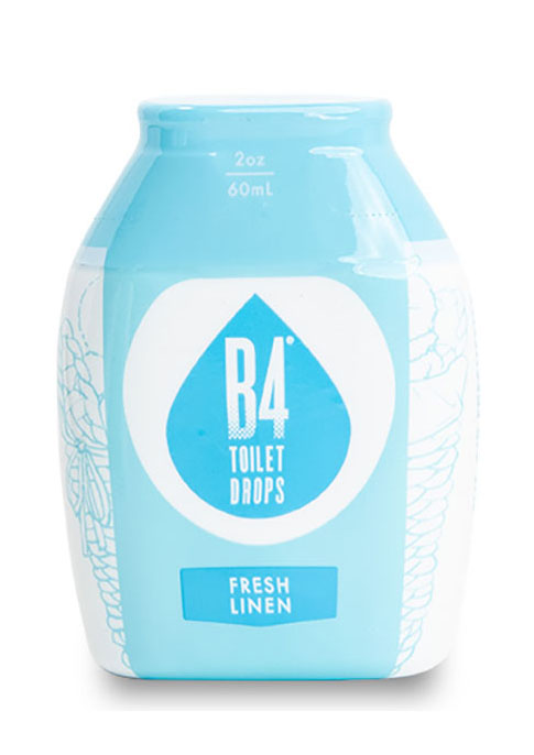 B4 Toilet Drops - Fresh Linen Product Image