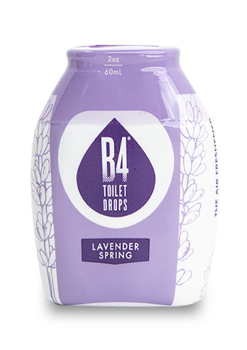 B4 Toilet Drops - Lavender Spring Product Image