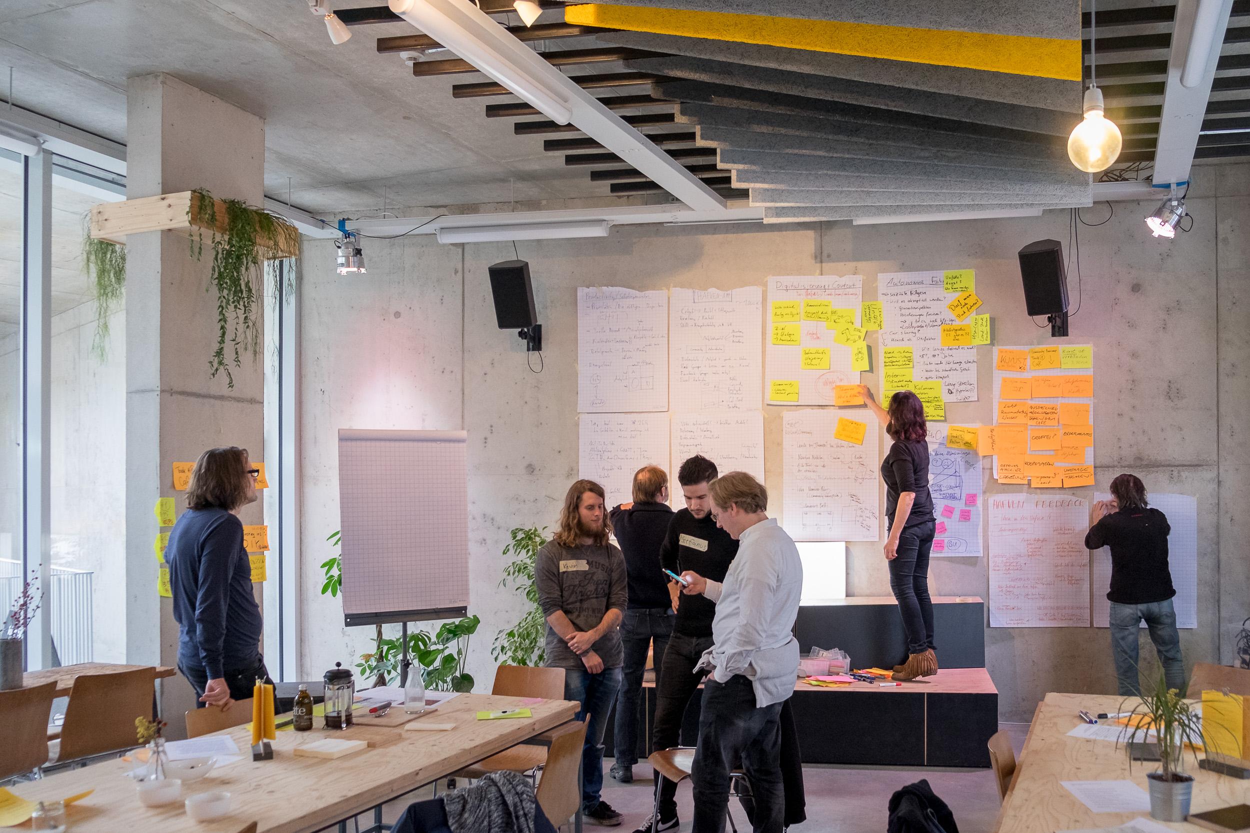 Das erste Hafven Community Barcamp