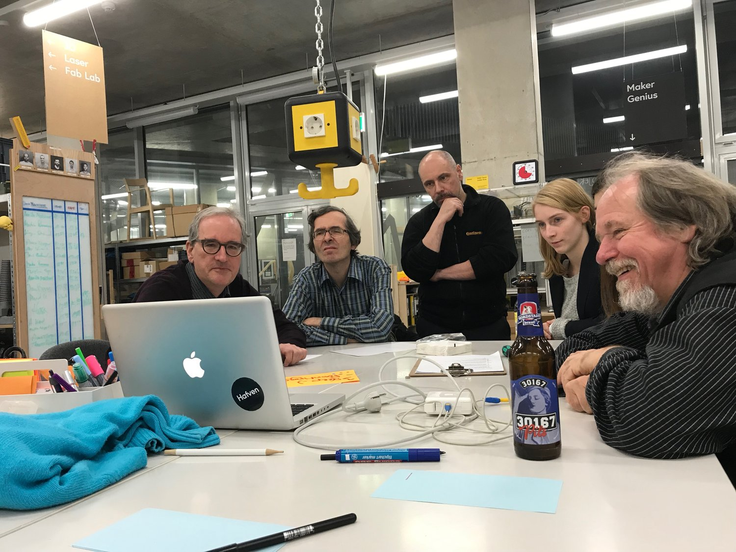 Open Prototyping — Session am Nikolaustag