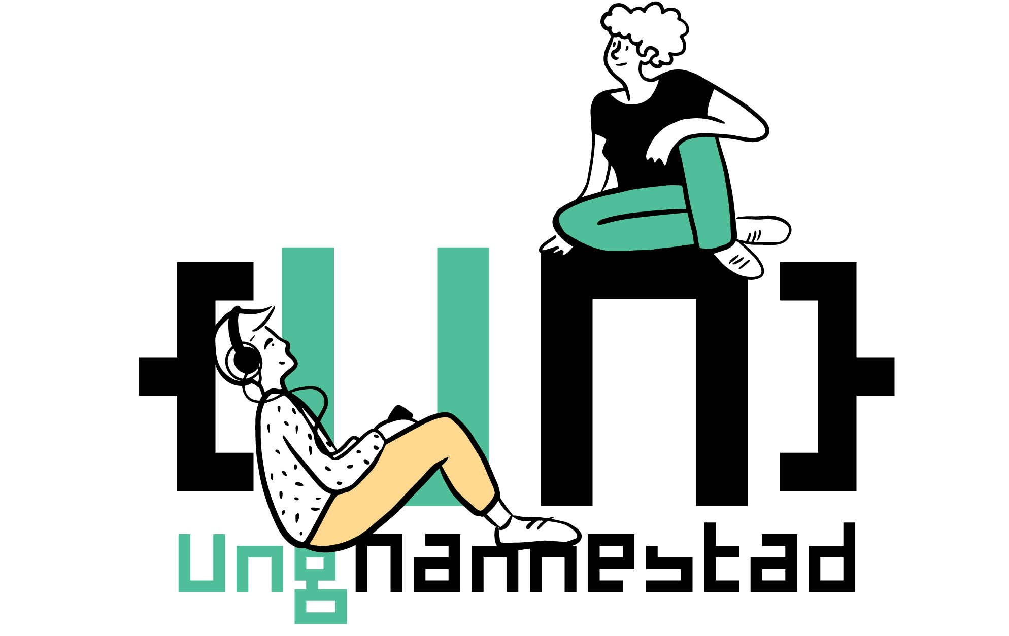 Ung Nannestad, logo