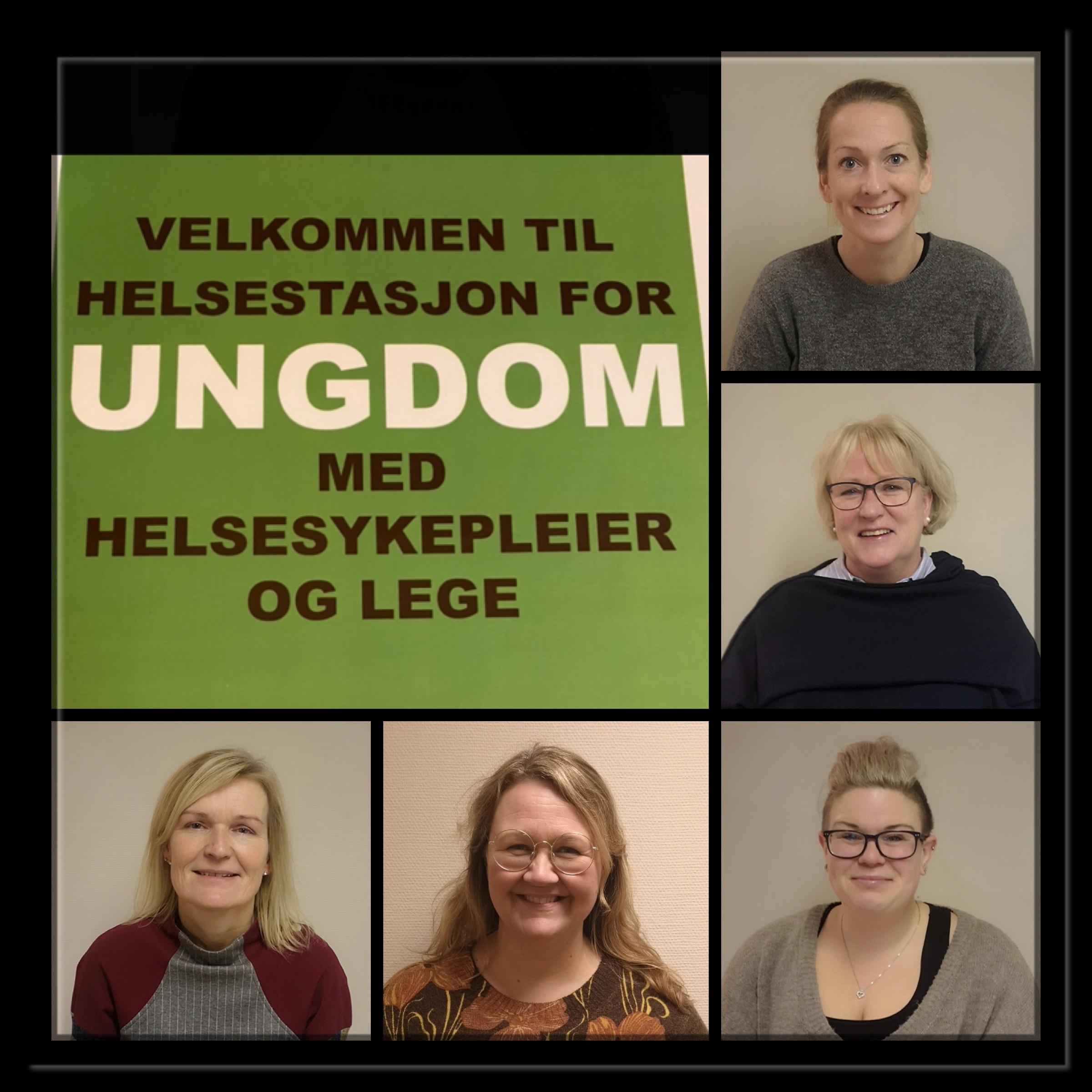 Monica, Kristin, Pernille, Hege og Nina