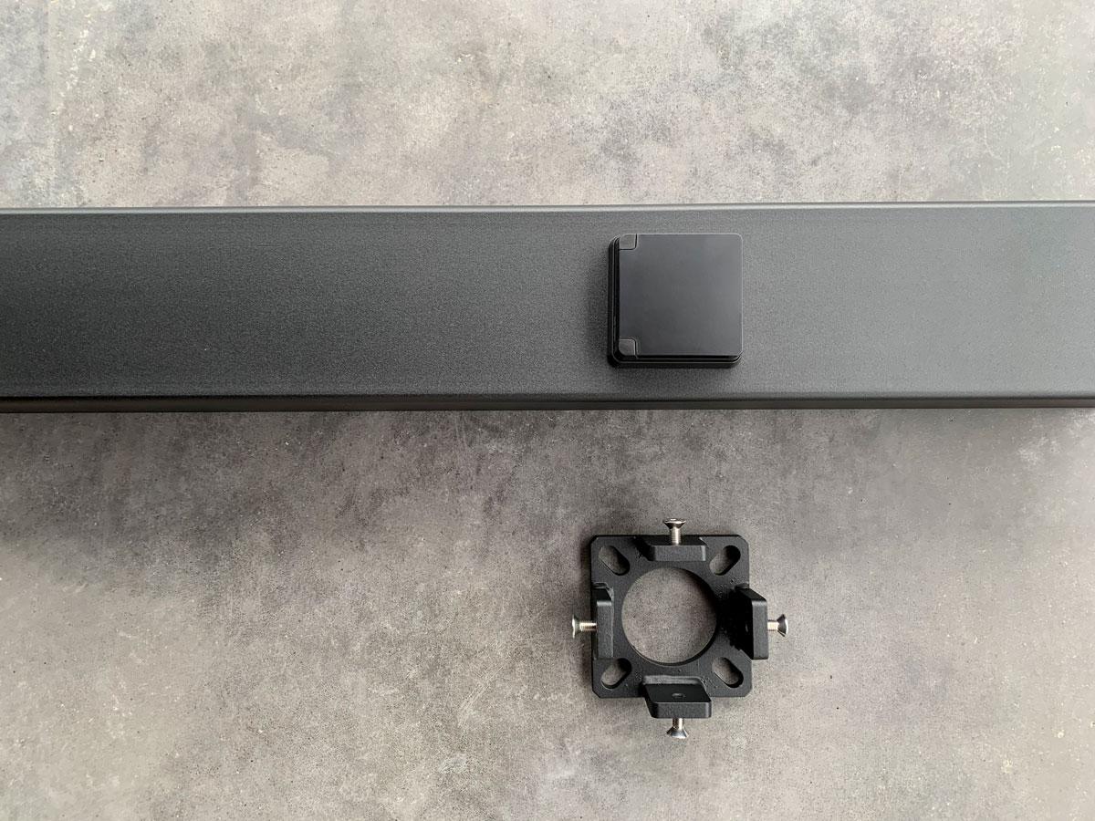 Ladeeda laadpaal set met wandcontactdoos en verborgen voetplaat voor Tesla Wall Connector en EVBox Elvi