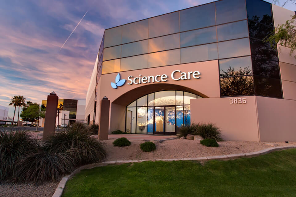 Science Care's Phoenix, AZ facility
