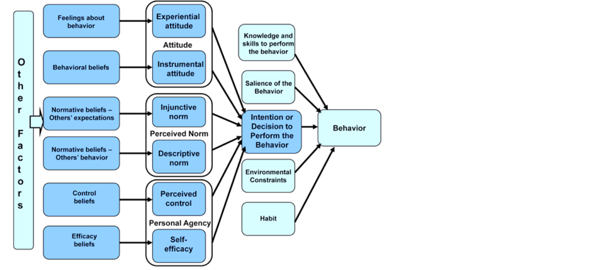 Integrated Behavior Model