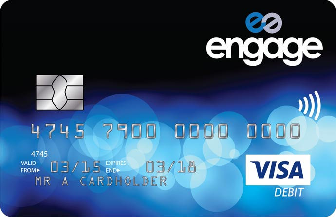 Engage Visa Card & E-Account