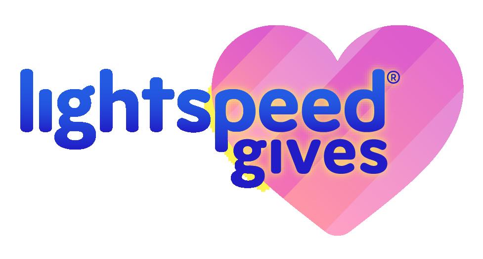 Lightspeed Gives Logo