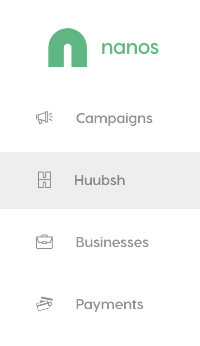 Huubsh landing page creator
