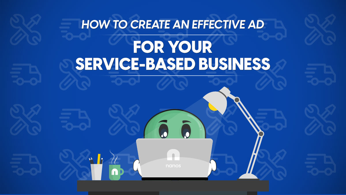 effective ad for service based business