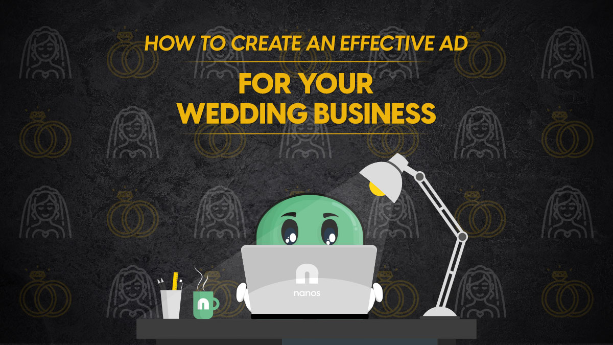 effective ad for wedding business